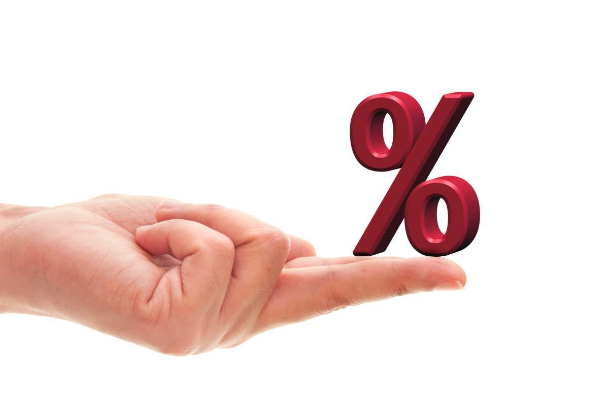 небольшой процент займа